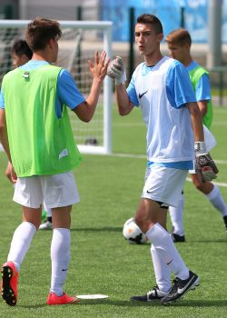 Junior International Football Festival and Language Program at Manchester City on Friday July 10th, 2015. Pics by Dave Thompson