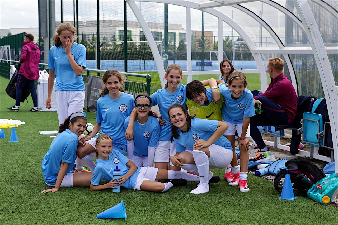 Training City NY girls soccer camp