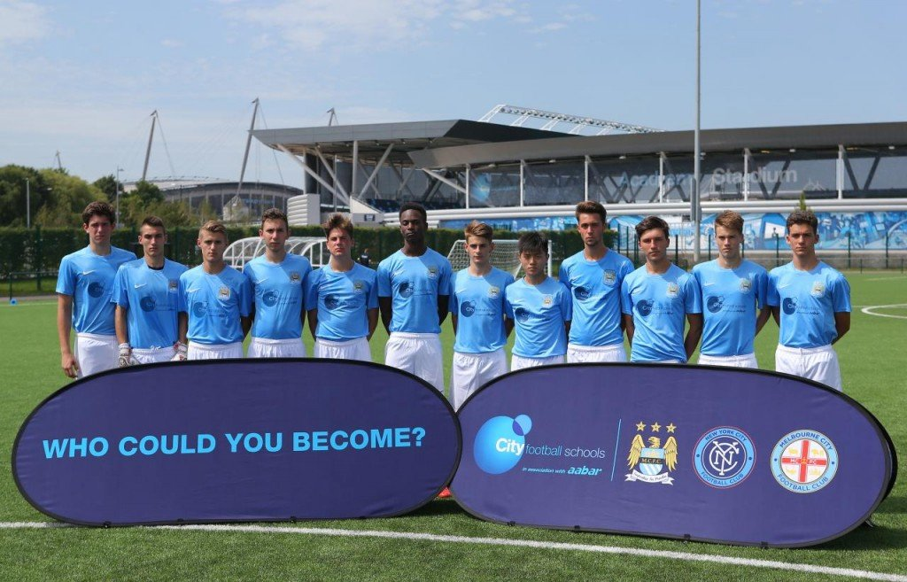 Stage Foot Manchester City 1024x657 - How to become a professional soccer player | Ertheo Sports Programs