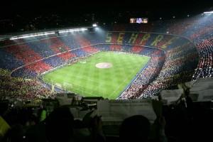 El Camp Nou antes de un encuentro. FCBARCELONA.es