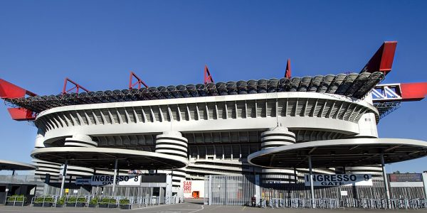 San siro football stadium 600x300 - 11 Famous Football Stadiums: Which is the biggest? The most modern? The most impressive? The strangest?