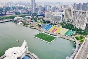 The Float Stadium en Singapur 300x200 - Curiosidades sobre los estadios de fútbol en el Mundo