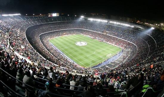 estadio de fútbol Camp Nou - Curiosidades sobre los estadios de fútbol en el Mundo