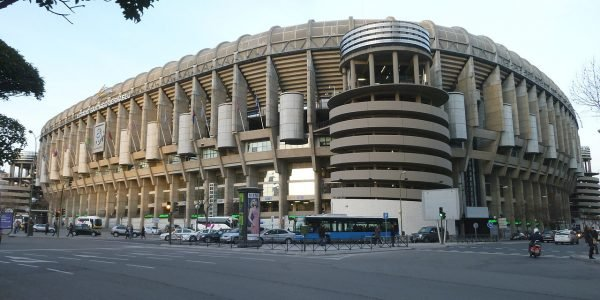 real madrid football stadium 2 600x300 - 11 Famous Football Stadiums: Which is the biggest? The most modern? The most impressive? The strangest?