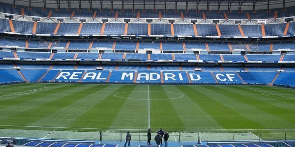 real madrid football stadium 600x300 - 11 Famous Football Stadiums: Which is the biggest? The most modern? The most impressive? The strangest?