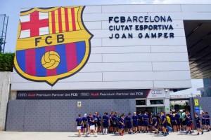 FC Barcelone 300x200 - Top 4 de los campamentos de fútbol con instalaciones de mayor calidad
