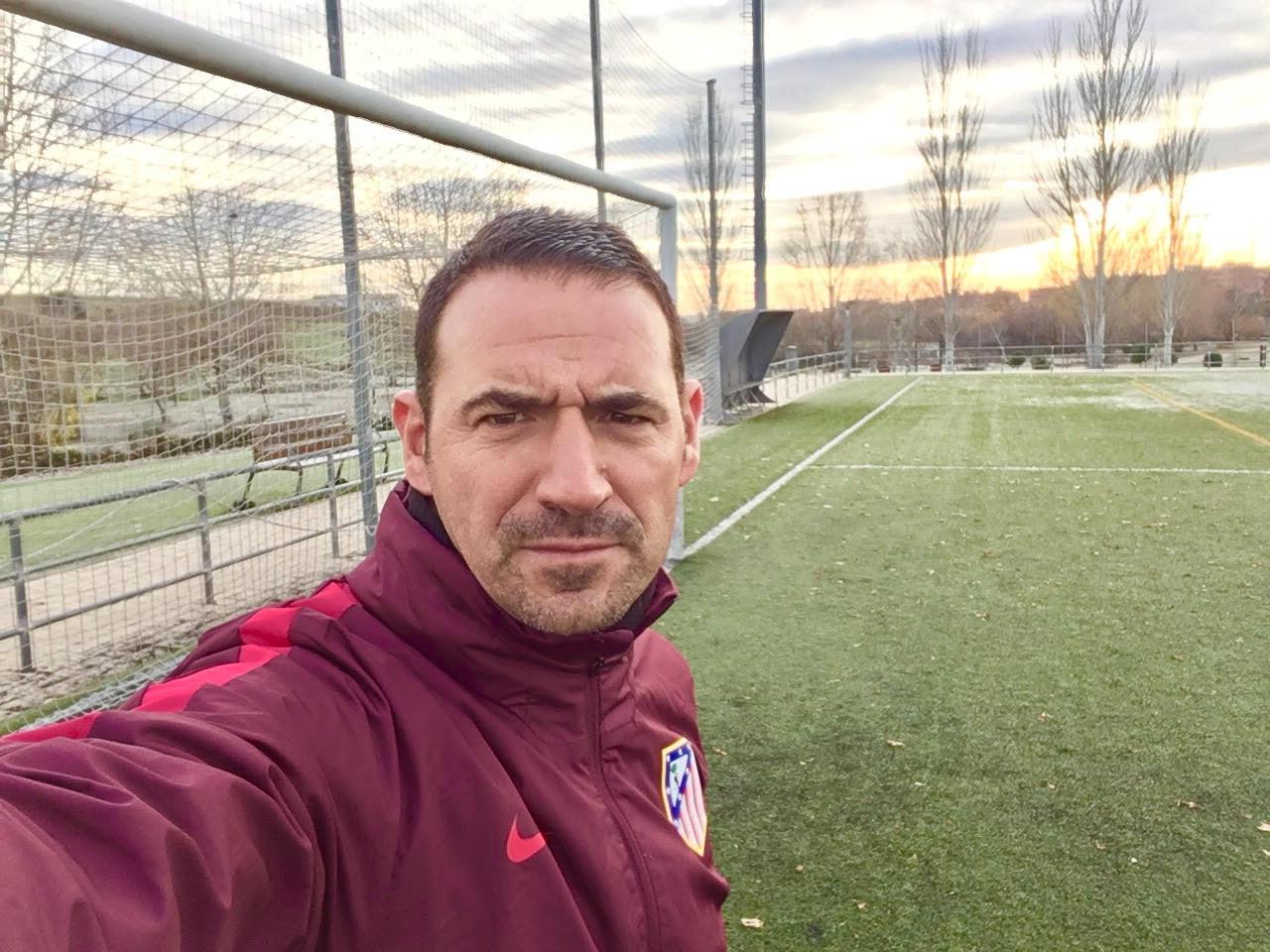 Alberto ruiz - Interview with Alberto Ruiz, coach of the Atlético de Madrid Cadets