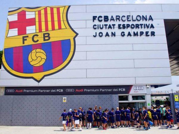 campus para porteros FC Barcelona