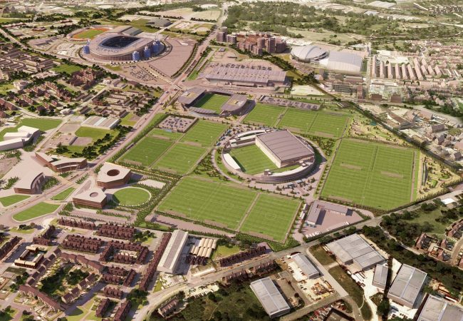 campos de entrenamiento del campamentos de fútbol Manchester City