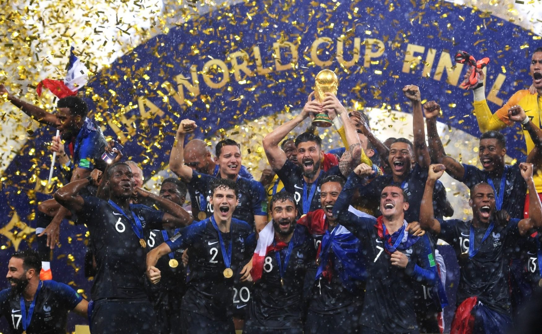 France champion of the Football World Cup Russia 2018 - Summer camps in France 2020 | Ertheo Education & Sport