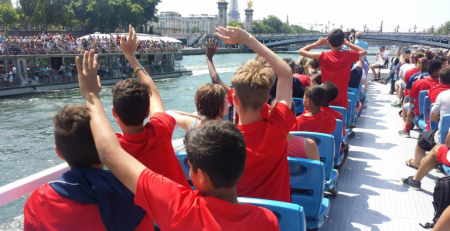 Paris Saint Germain Summer camps in France - Tourism