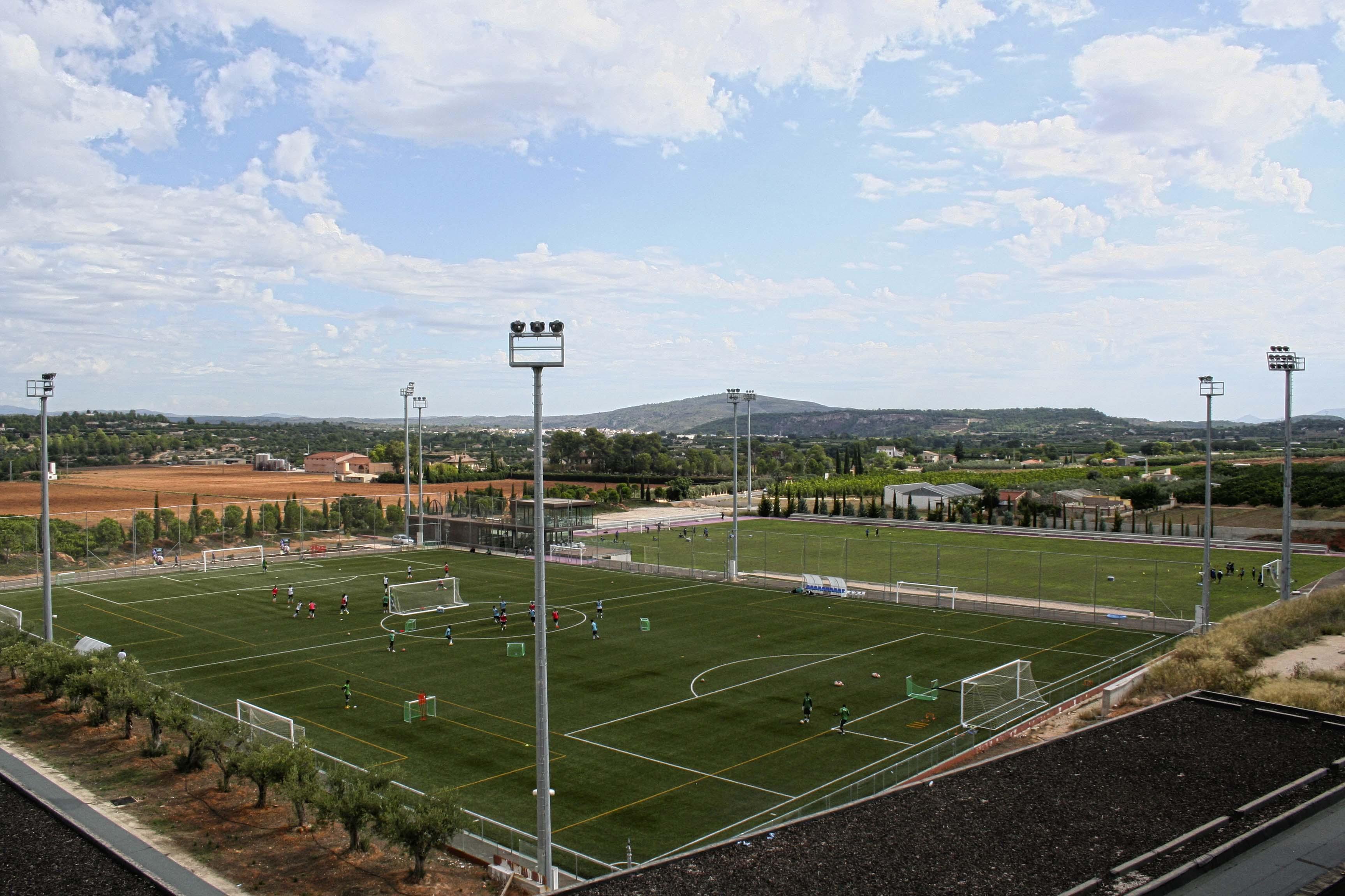 Campamento de f tbol fc porto 2018 en valencia - Campo de futbol del valencia ...