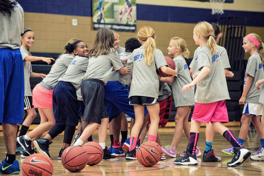 Nike Girls Basketball Camp 13 - El minibasket y el material adaptado para los niños