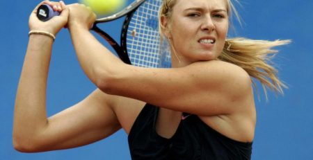 Tennis Elbow Exercise: María Sharapova