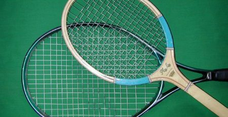 best tennis racquet retro