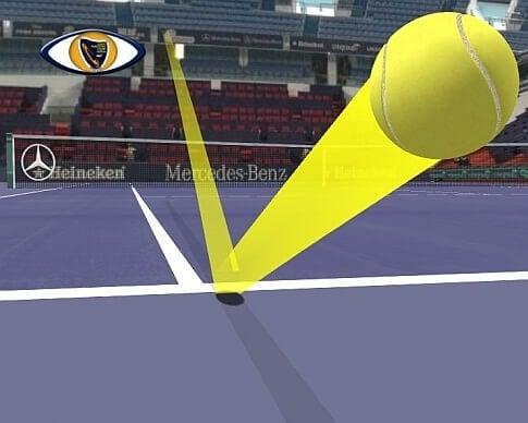 ojo de halcón en tenis - ¿Cómo funciona el ojo de halcón en tenis?