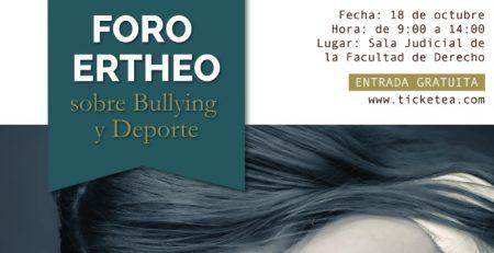 portada foro bullying y deporte ertheo