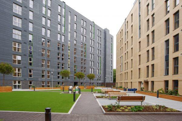 Outdoor view of residences PPQ 600x400 - Manchester City Camp - Highest Rated Program | Ertheo Education & Sport
