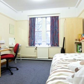 Residence room of the leadership camp at the University of ST. Andrews 350x350 - Leadership camp at university of Cambridge, Yale or ST. Andrews