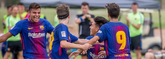 fcb academy 01 - Pruebas de acceso para academias de fútbol. ¿Qué días son y en qué consisten?