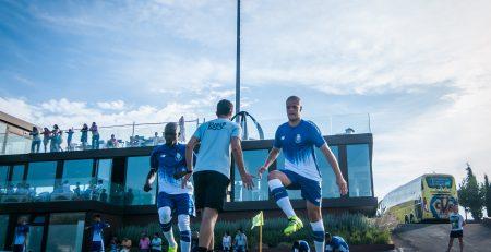 entrenamiento en el campamento intensivo de fútbol en Valencia