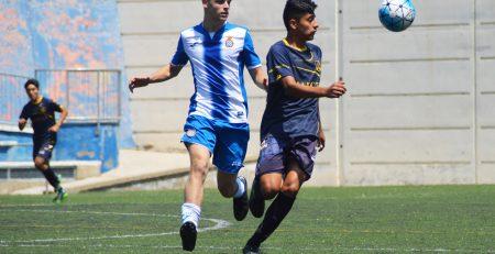 partido de un jugador del equipo de la academia de Barcelona