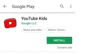 Youtuve kids screen 2 300x191 - Guide to Parental Control 2021 - Keep your child safe online