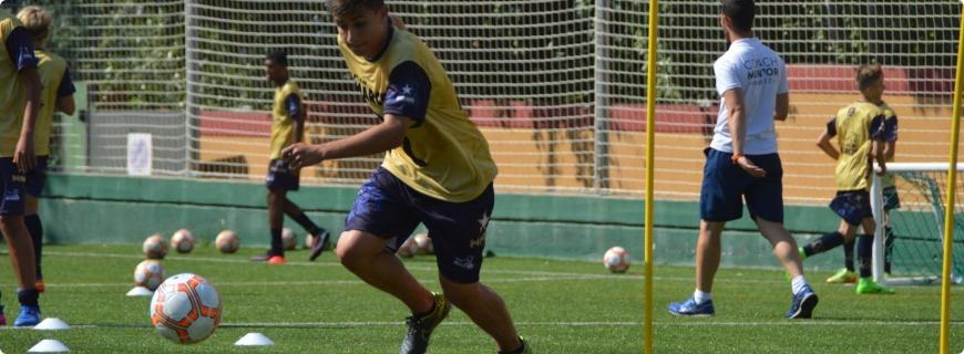 barcelona - Acampamentos de futebol de alto rendimento 2021
