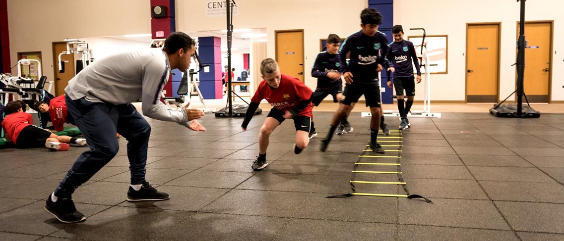 Imagen11 - Stage de noël académie de football de haut niveau du FC Barcelone en Arizona (USA)