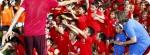 Atividades recreativas no Acampamento de Futebol do Atlético de Madrid