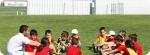 Aulas de língua estrangeira no Acampamento de Futebol do Atlético de Madrid