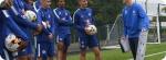 Treinamento no Acampamento de Futebol do Chelsea FC Foundation