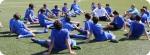 Allenamento nel FC Porto Campo estivo di Calcio