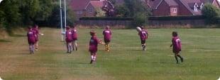 Campamento de Rugby en Leicester - Inglaterra logo
