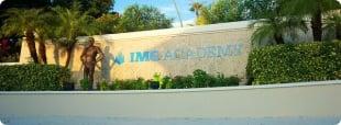 Logo do IMG na Flórida