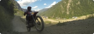 Logo do Acampamento de Motocross em Andorra