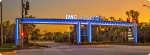 Logo do IMG Florida