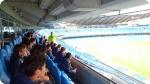 Manchester City Freizeitaktivitäten genießen. Linkes Bild.