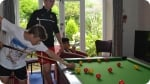 Attività ricreative nel Alte Prestazioni UK Campus di Calcio. Immagine a destra