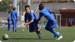 Allenamento nel FC Porto Campo estivo di Calcio. Immagine a sinistra