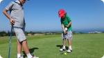 Training at Golf + Idiomas - St. Andrews. Right picture