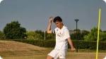 Treinamento no Acampamento de Futebol do Real Madrid na Dublin. Foto à direita