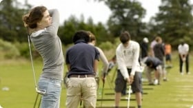 A typical day at Golf + Idiomas - St. Andrews