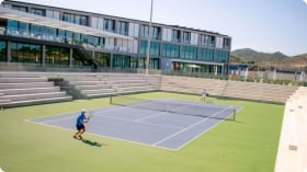 A typical day at Tenis alto rendimiento Rafa Nadal
