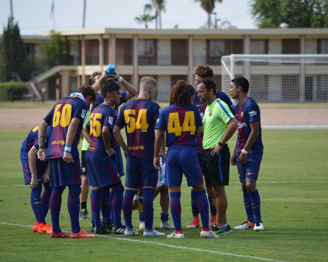 Allenamento calcio FC Barcelona sito