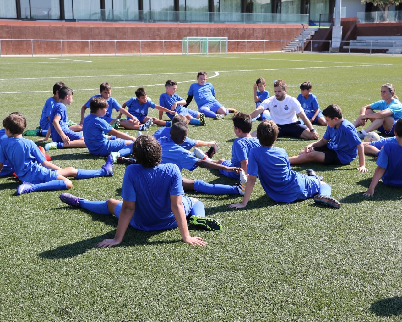 stage de football porto fc  u00e0 valence  campus 2020