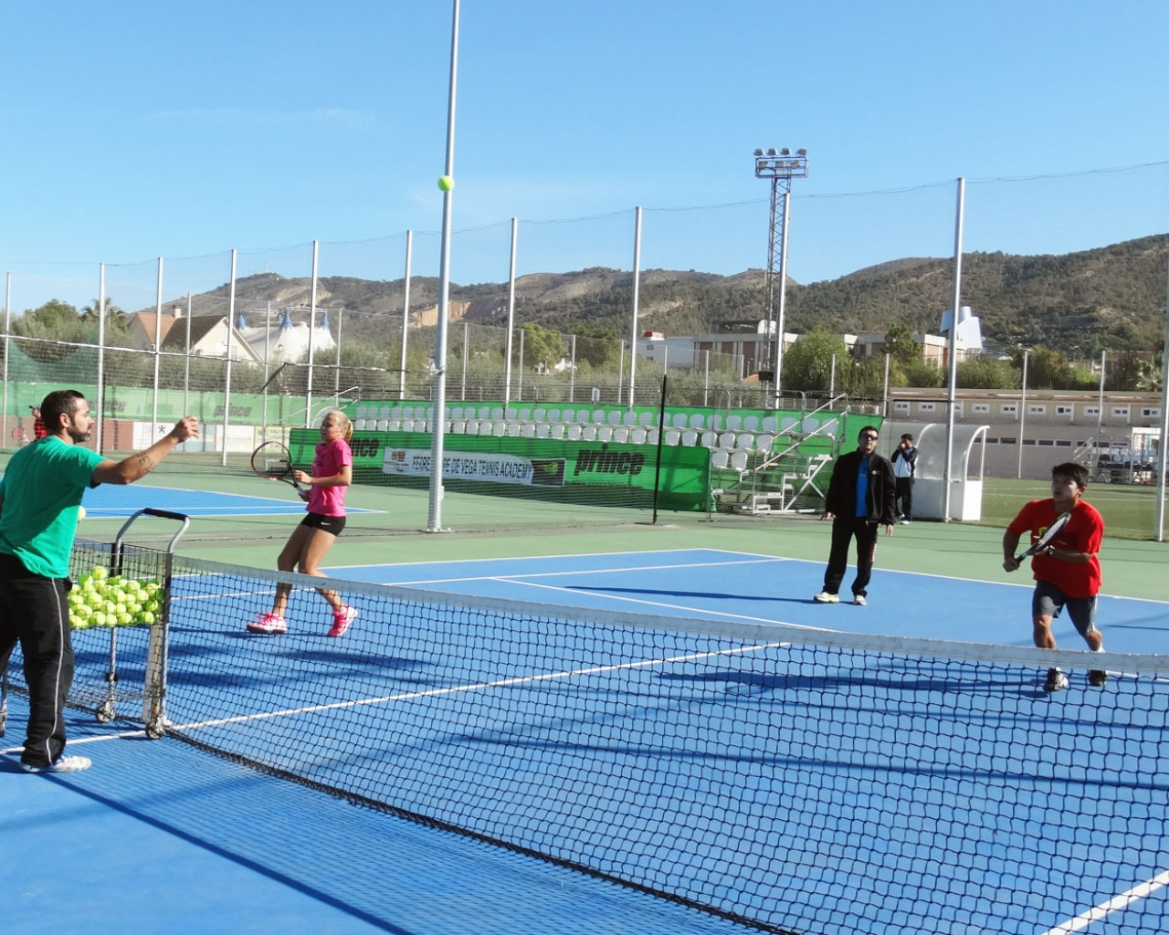 David Ferrer Tennis Camp In Benidorm Spain With Languages