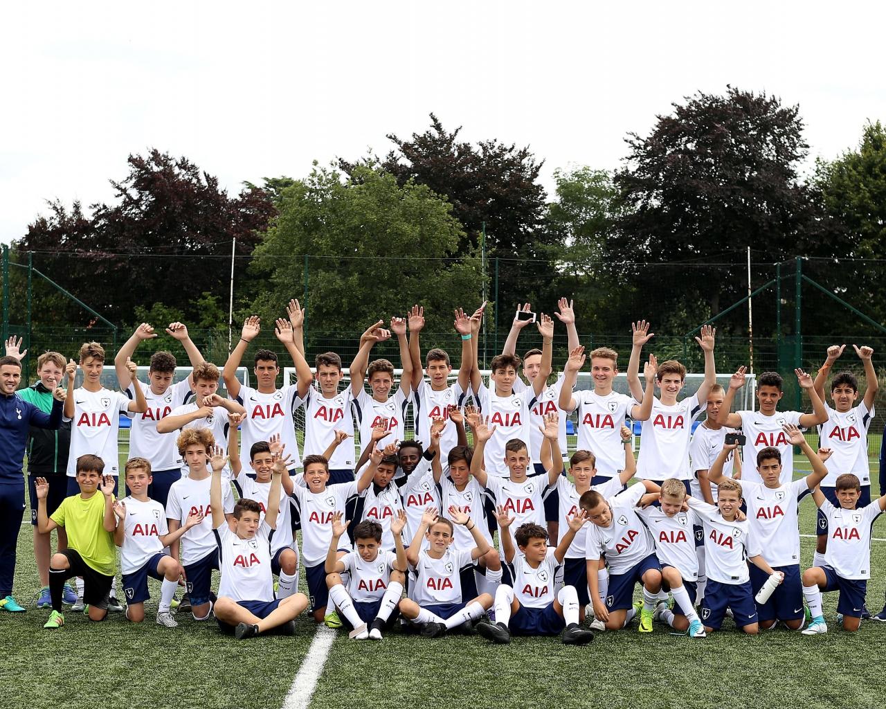 brand new 1bf3b 213a4 Tottenham Soccer Program in England [Summer Football Camp 2019]